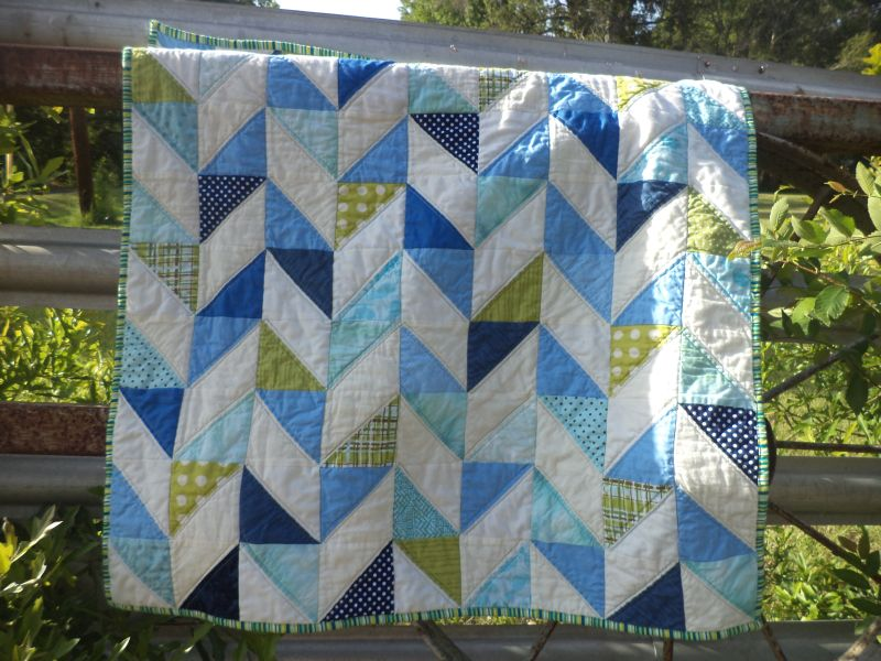 Image of: Baby Boy Quilt Patterns for Beginners
