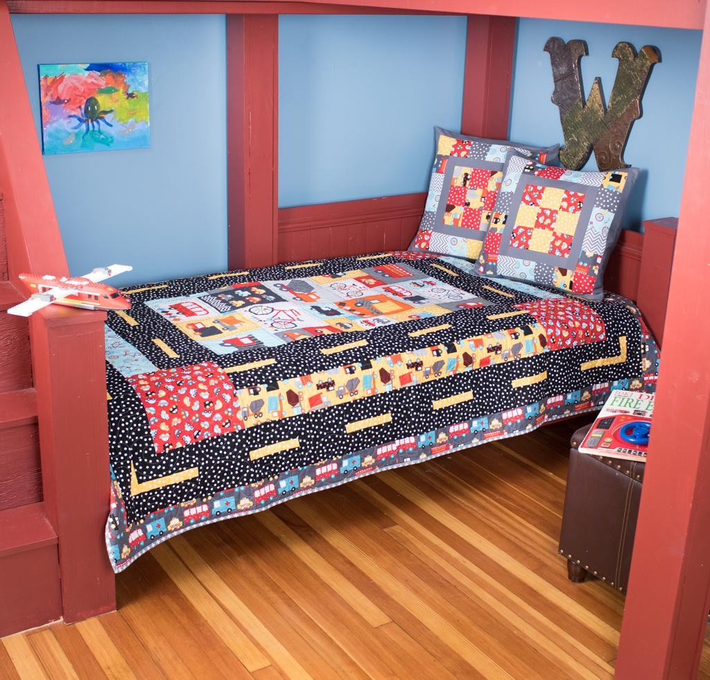 Baby Boy Quilts Bed