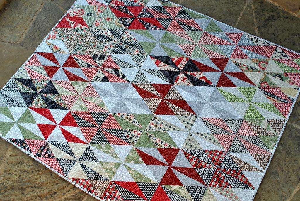Baby Diamond Quilt Pattern