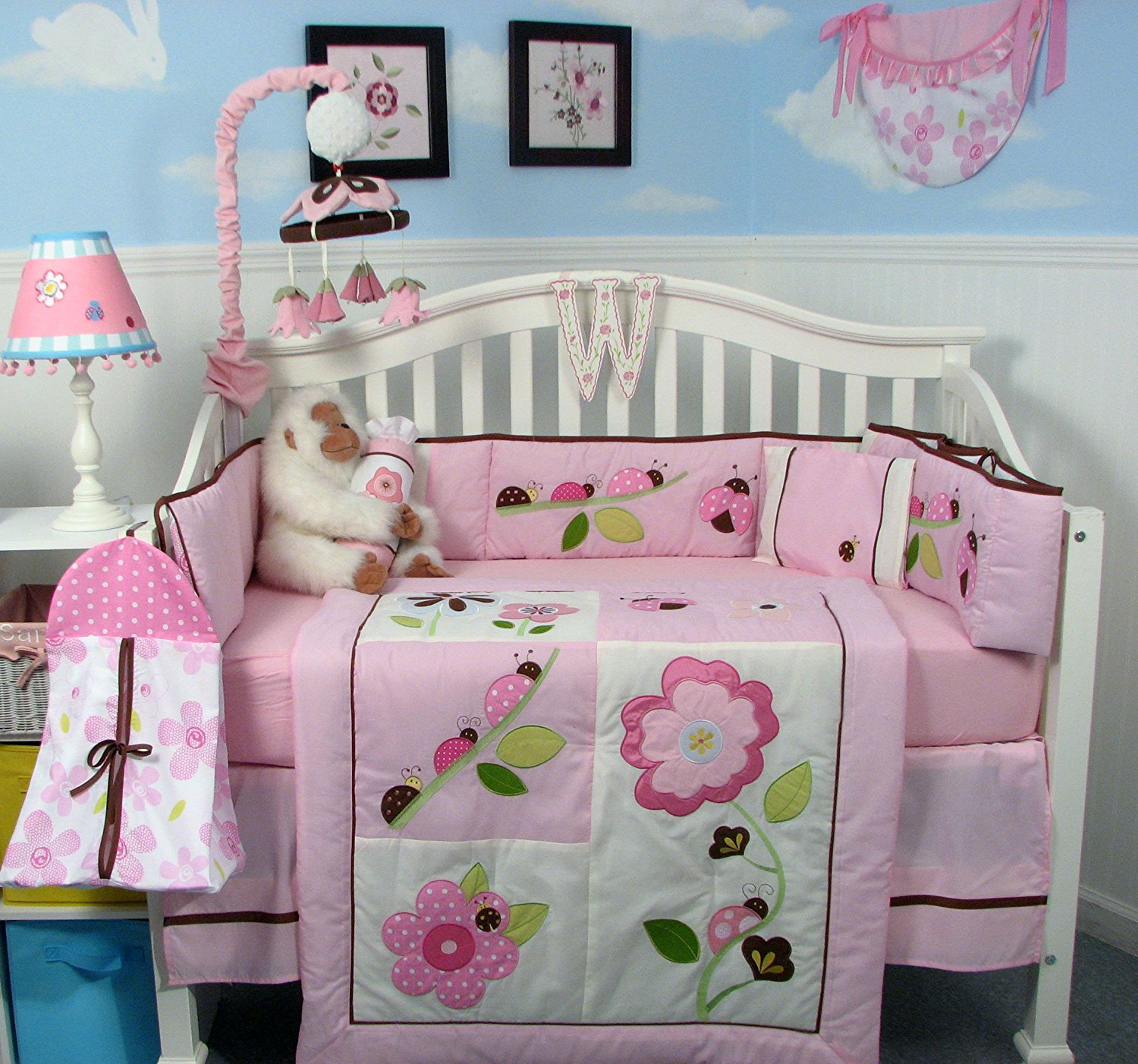 Image of: Baby Girl Quilt Kits Sets