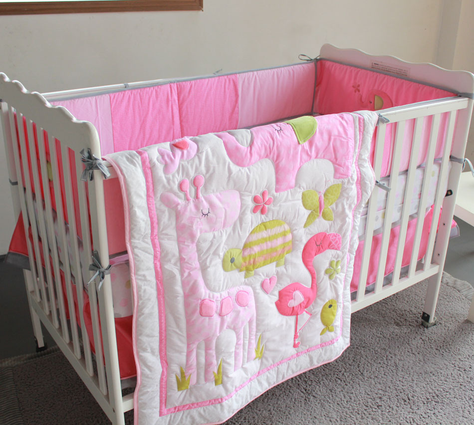 Baby Girl Quilt Kits in Pink