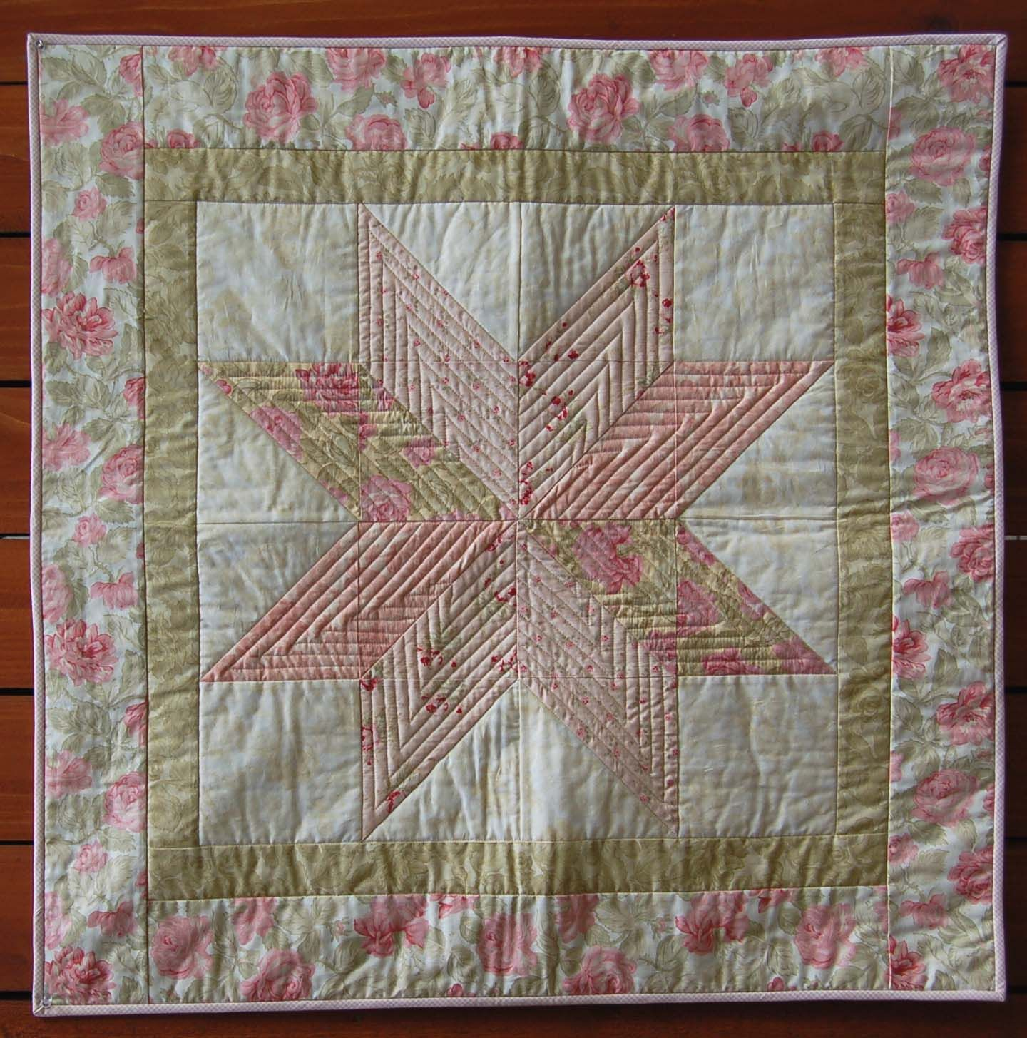 Image of: Baby Girl Quilt Patterns Fabric