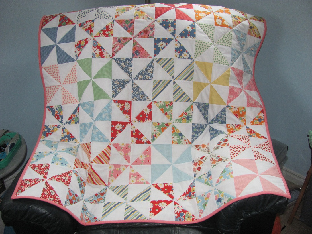 Image of: Baby Girl Quilt Patterns Models