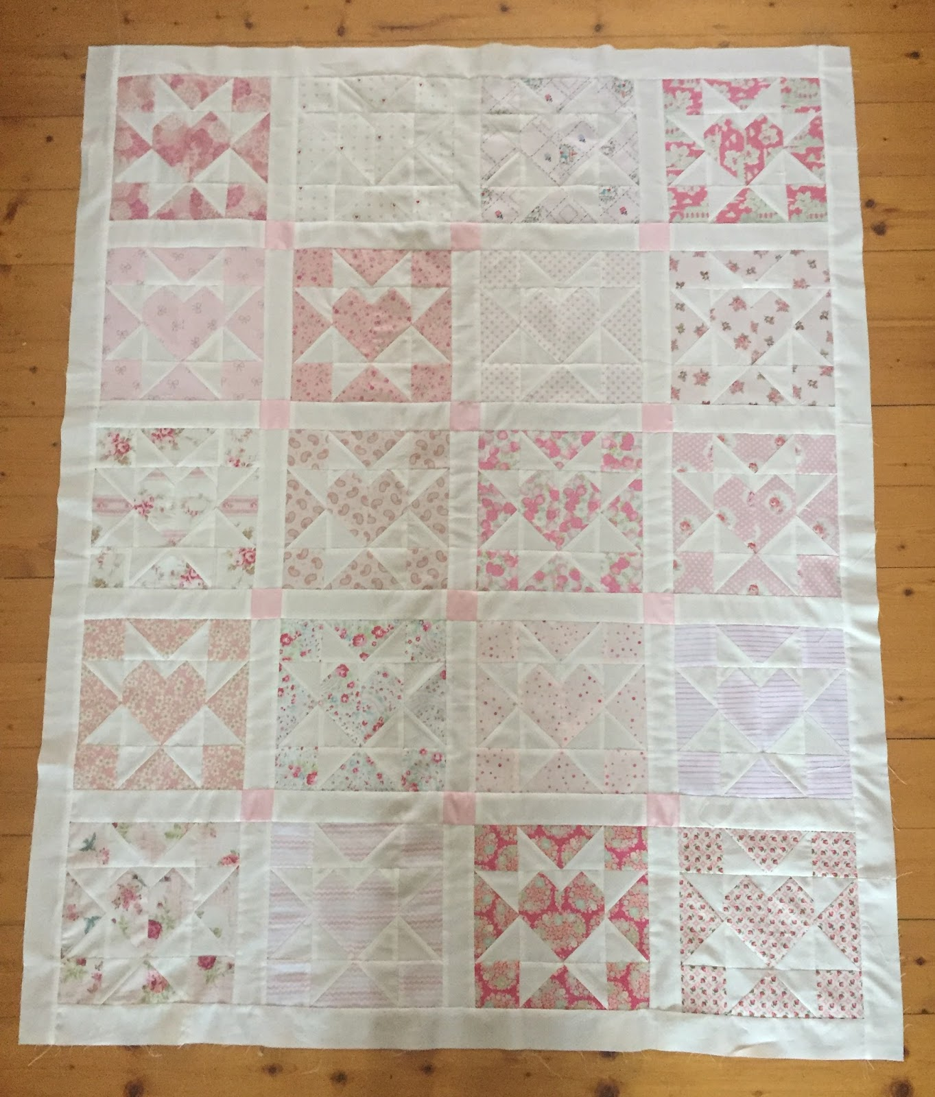 Image of: Baby Girl Quilts Small
