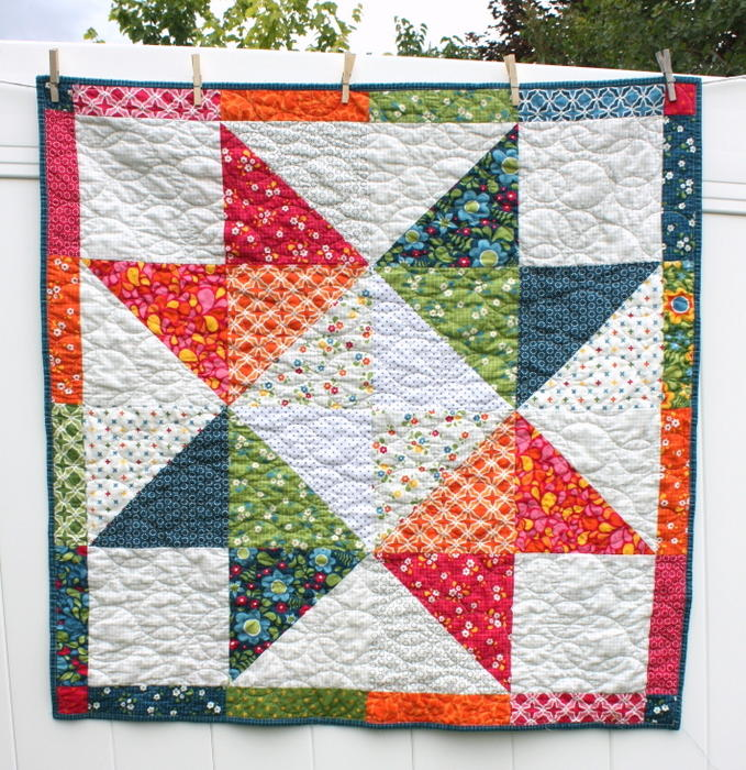 Image of: Baby Lone Star Quilt Pattern