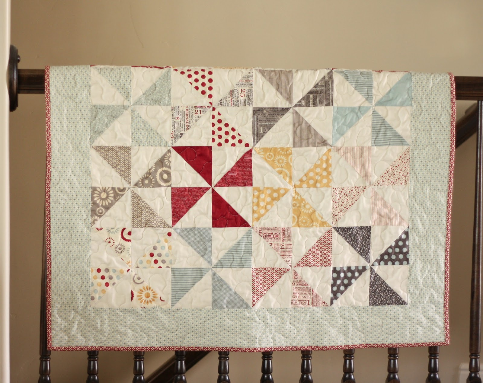 Picture of: Baby Pinwheel Quilt Pattern