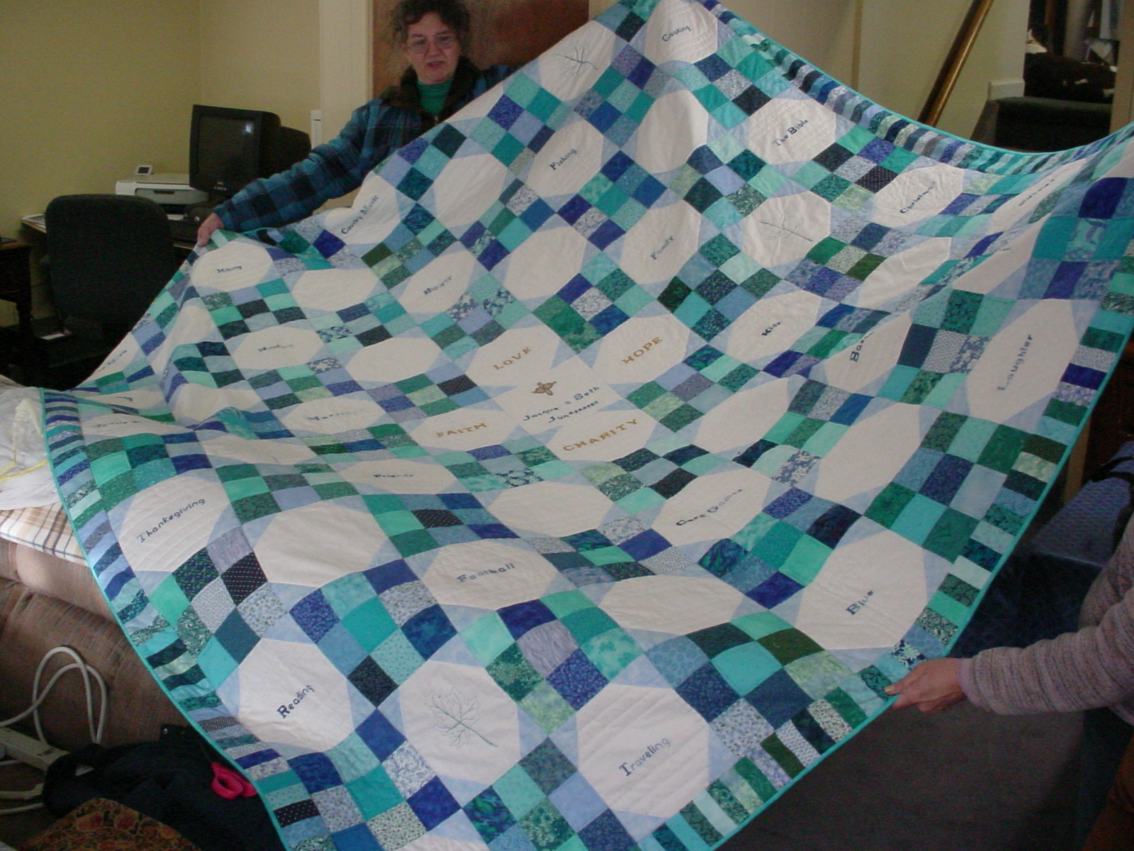 Image of: Baby Quilt Ideas Large