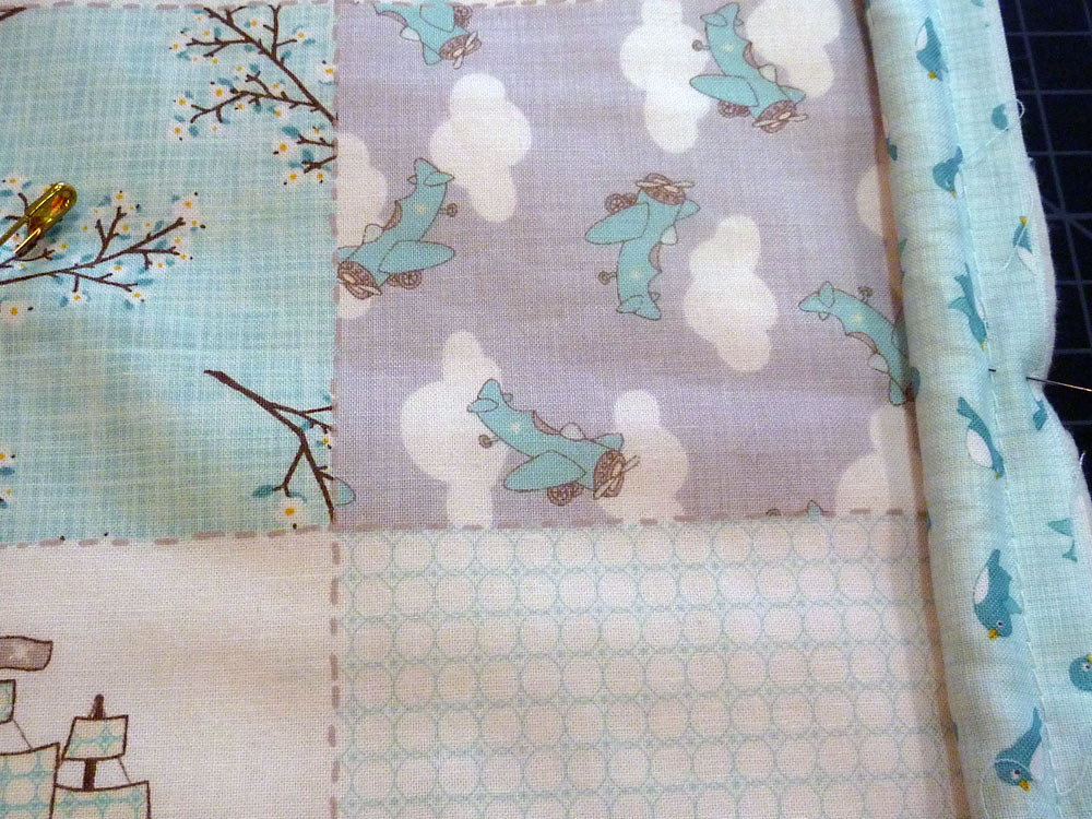 Image of: Baby Quilt Ideas Models