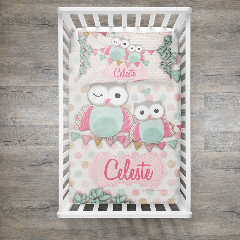 Image of: Baby Quilt Ideas Owl