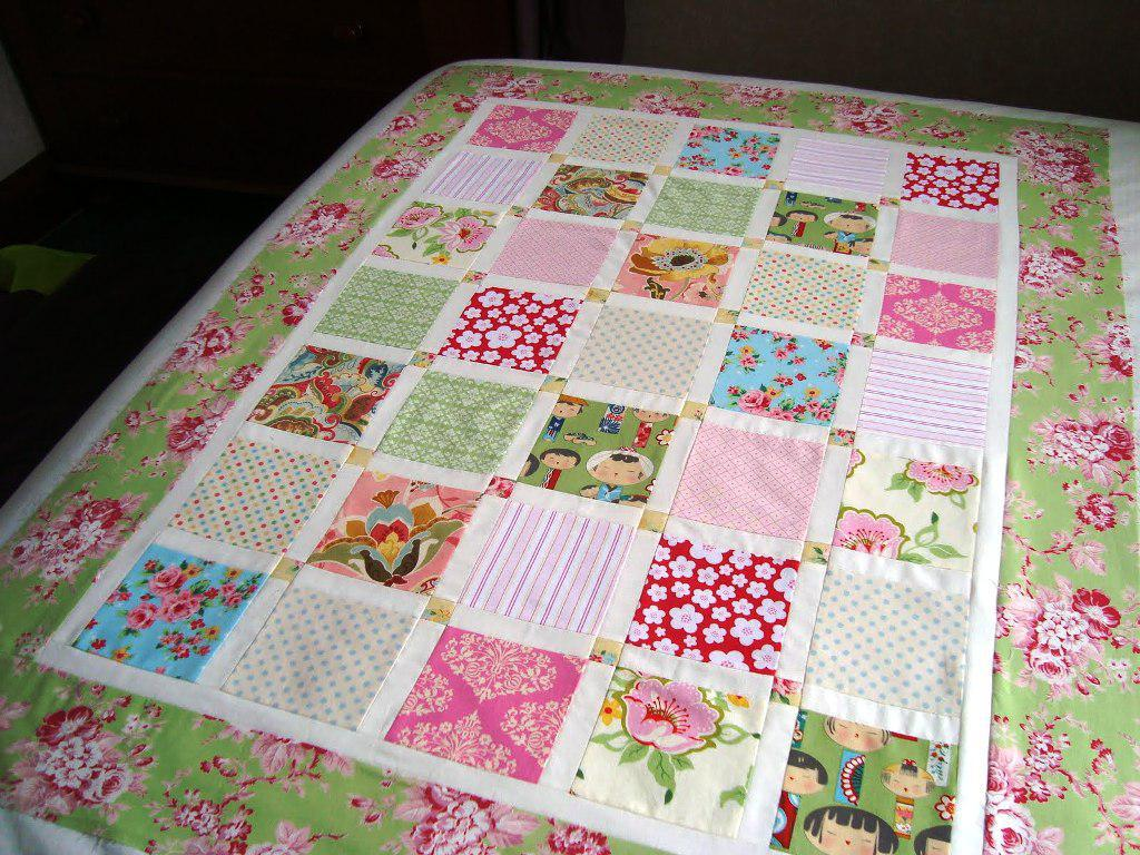Image of: Baby Quilt Patterns Applique