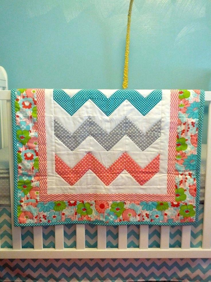 Image of: Baby Quilts Patterns For Girls