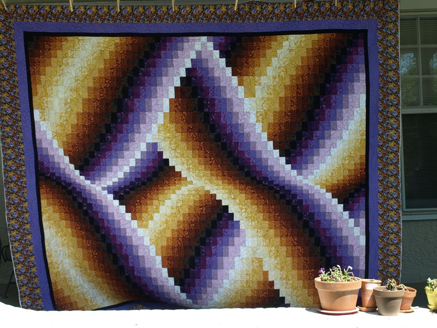 Image of: Bargello Quilt Pattern Picture