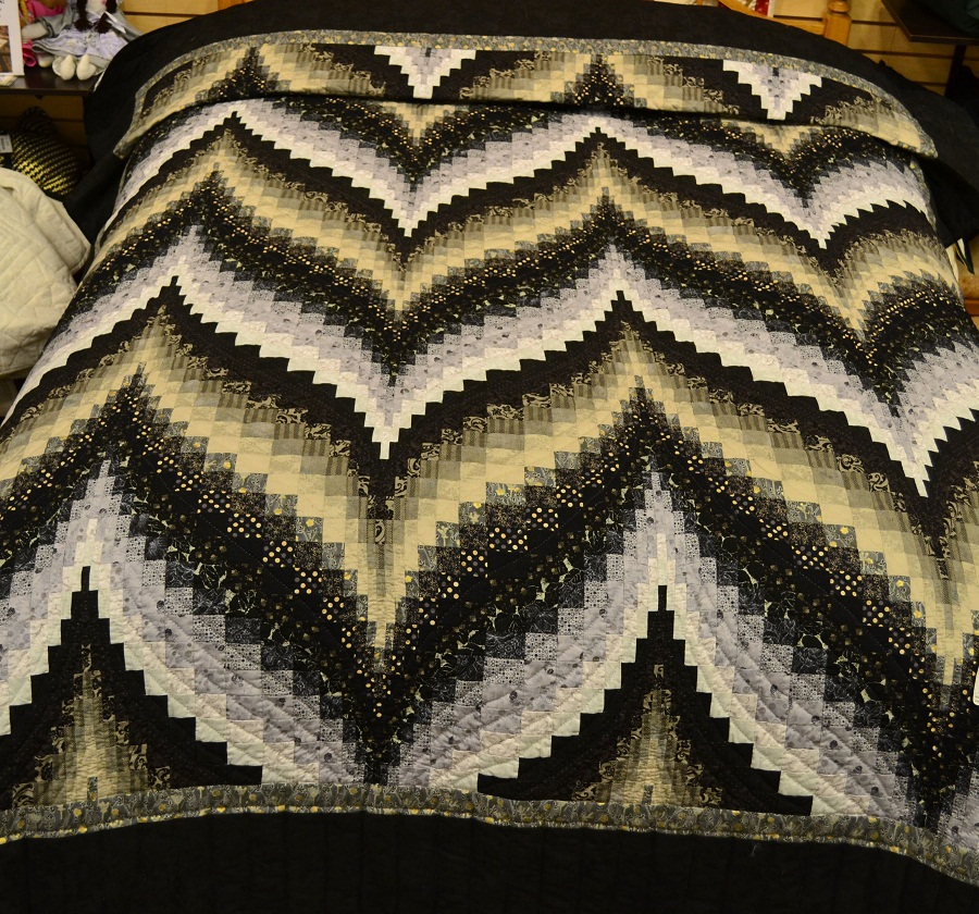 Image of: Bargello Quilt Pattern Style
