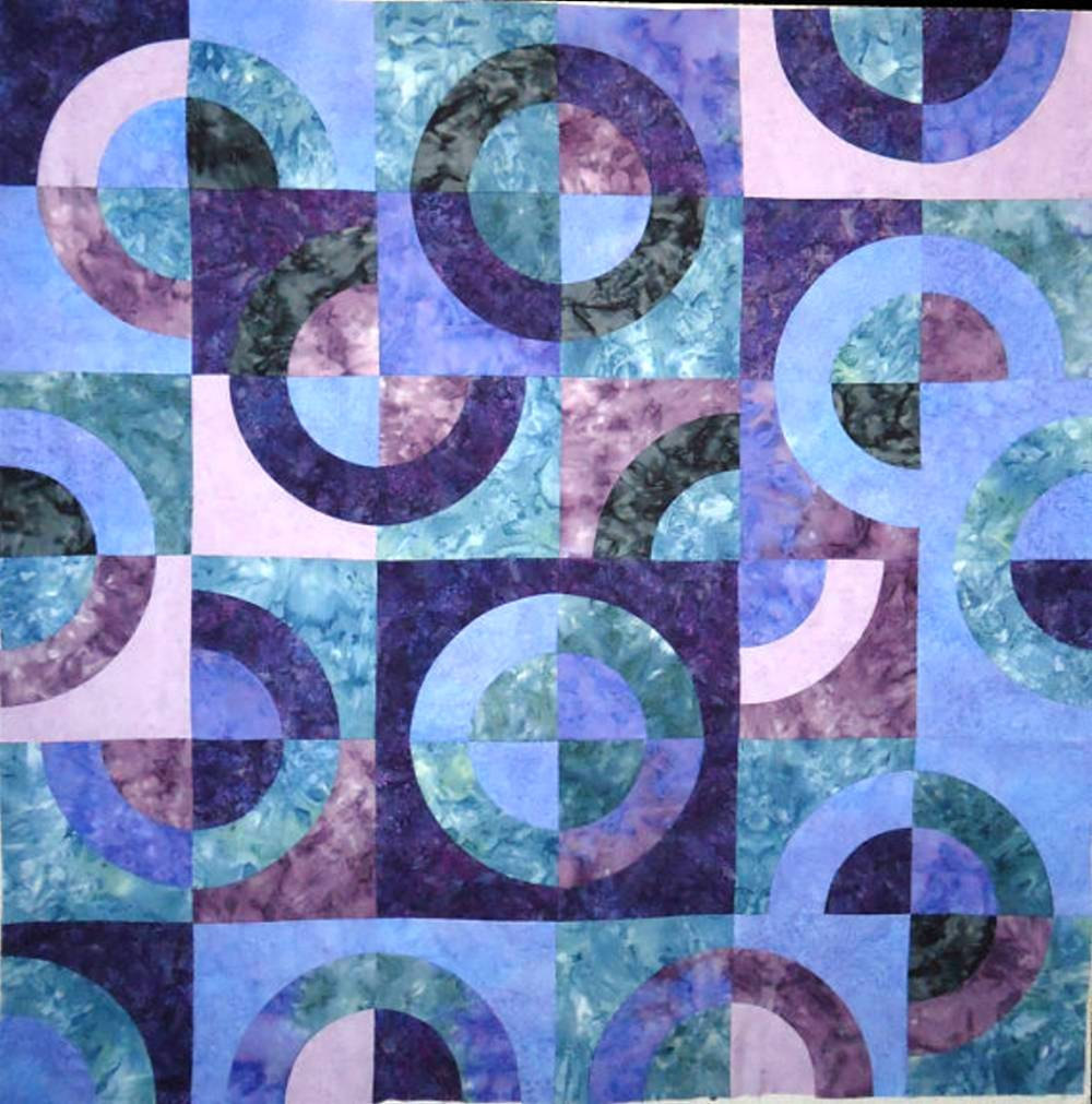 Image of: Batik Quilt Patterns Images