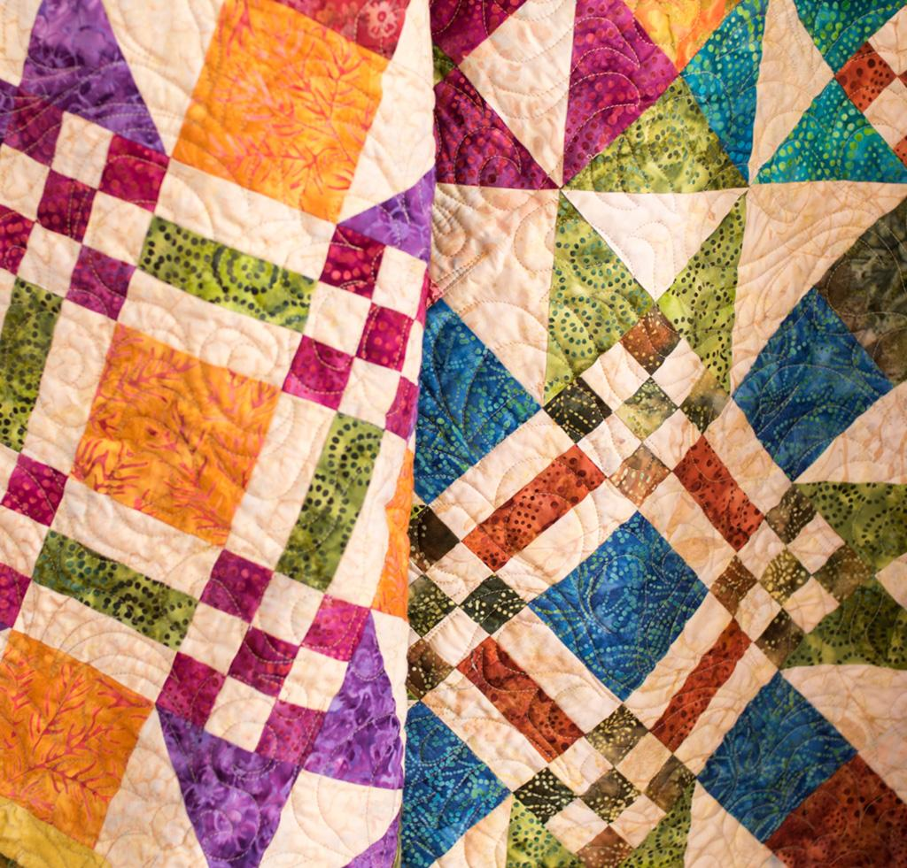 Image of: Batik Quilt Patterns Pictures