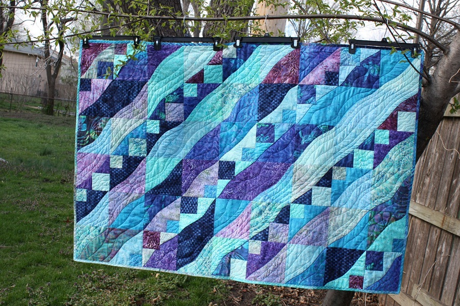 Image of: Batik Quilt Patterns Style