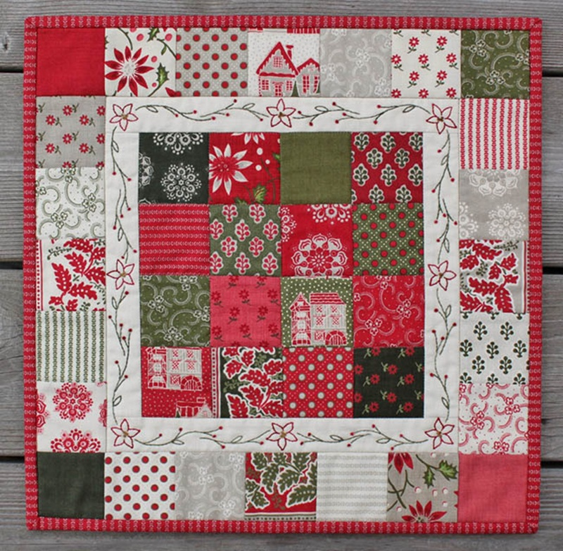 Picture of: Beautiful Christmas Quilt Patterns