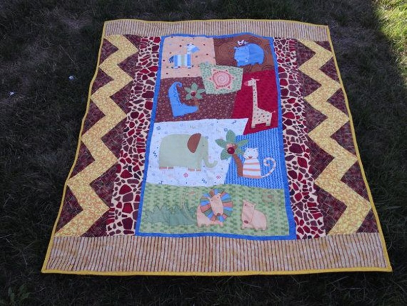 Picture of: Beautiful Homemade Baby Quilts