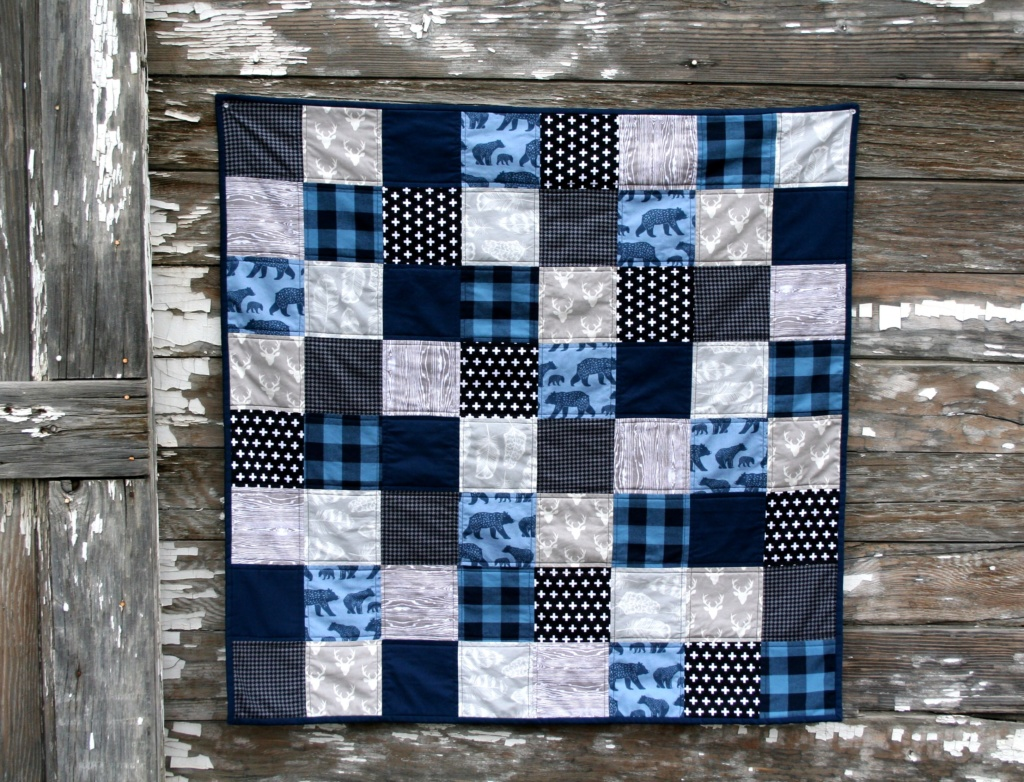 Picture of: Beautiful Simple Baby Quilt