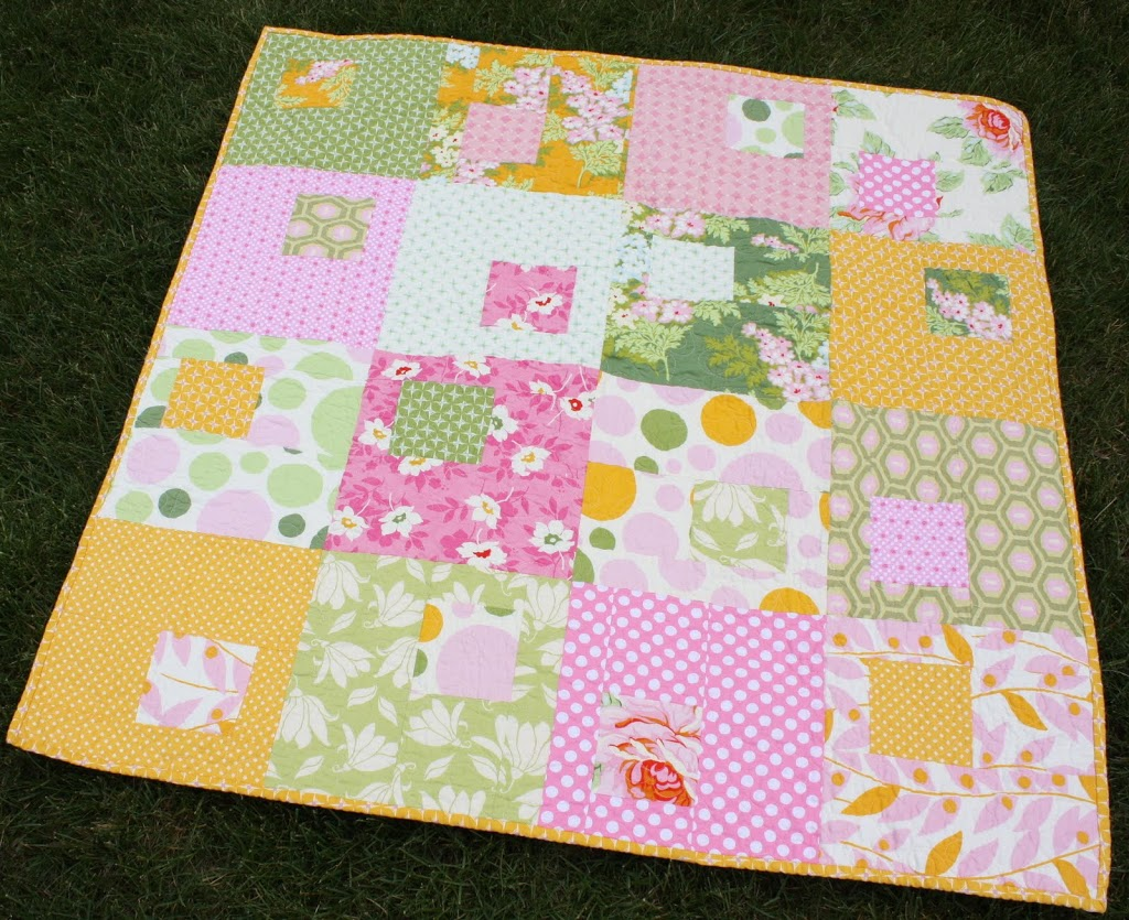 Picture of: Beautiful and Simple Baby Quilt Patterns