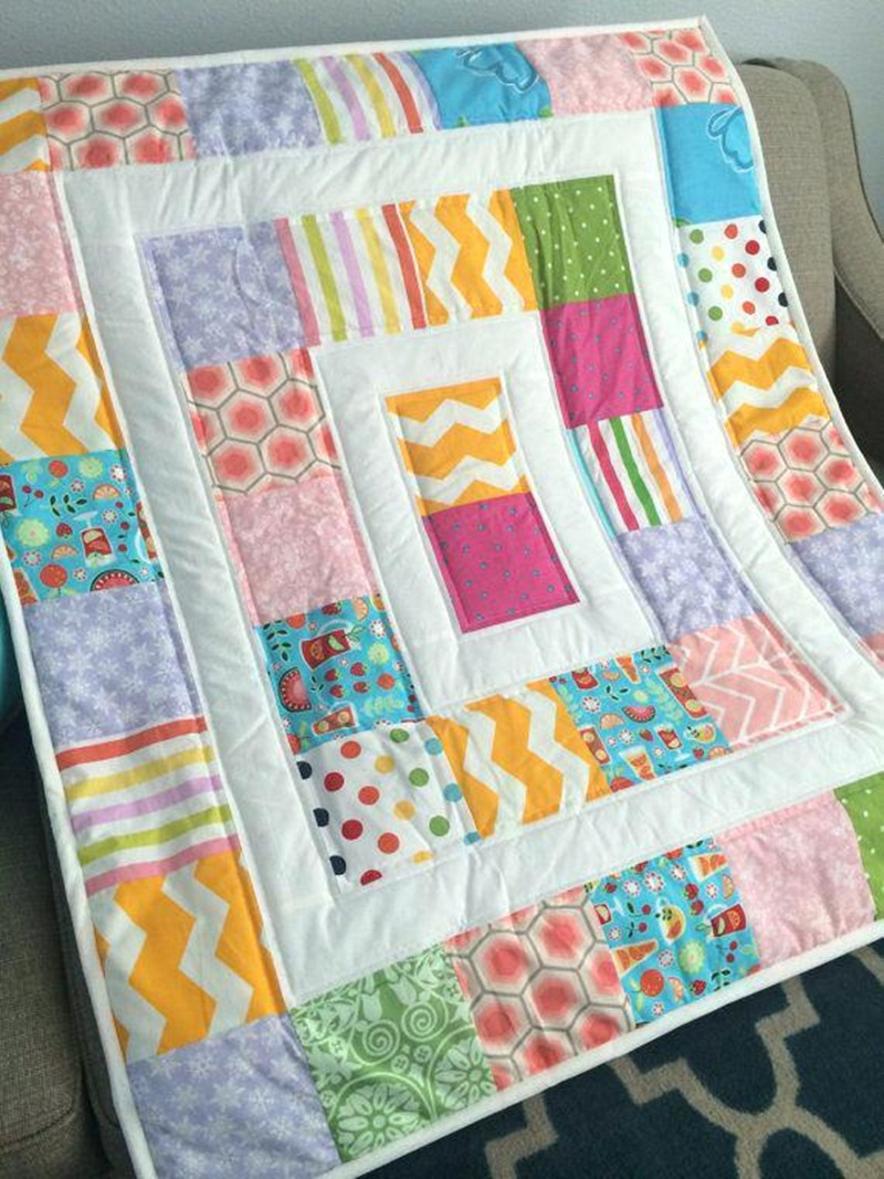 Image of: Best Modern Baby Quilt Patterns