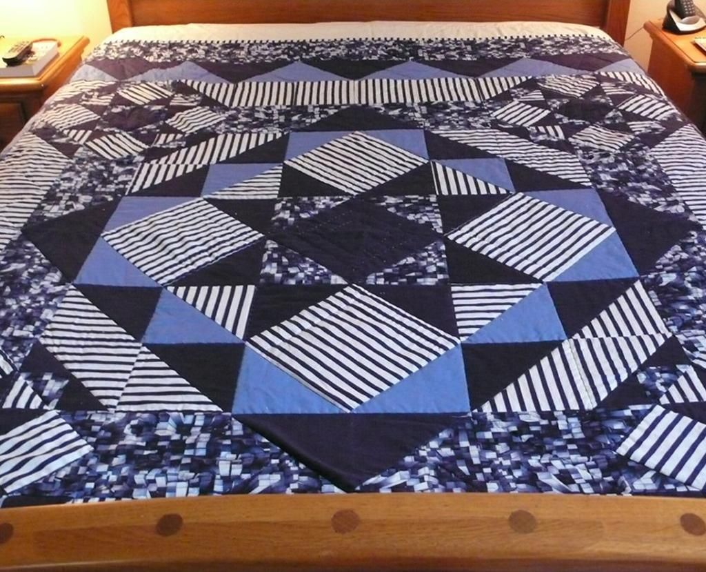 Image of: Best Quilt Patterns for Men