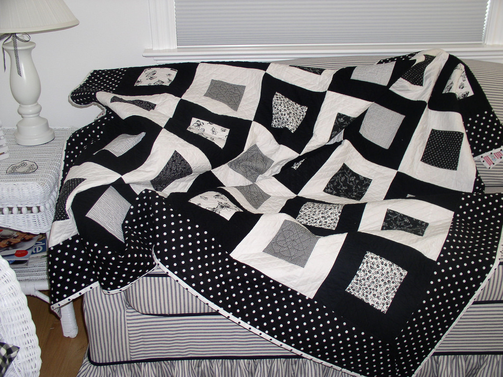 Black And White Quilt Patterns Innovation