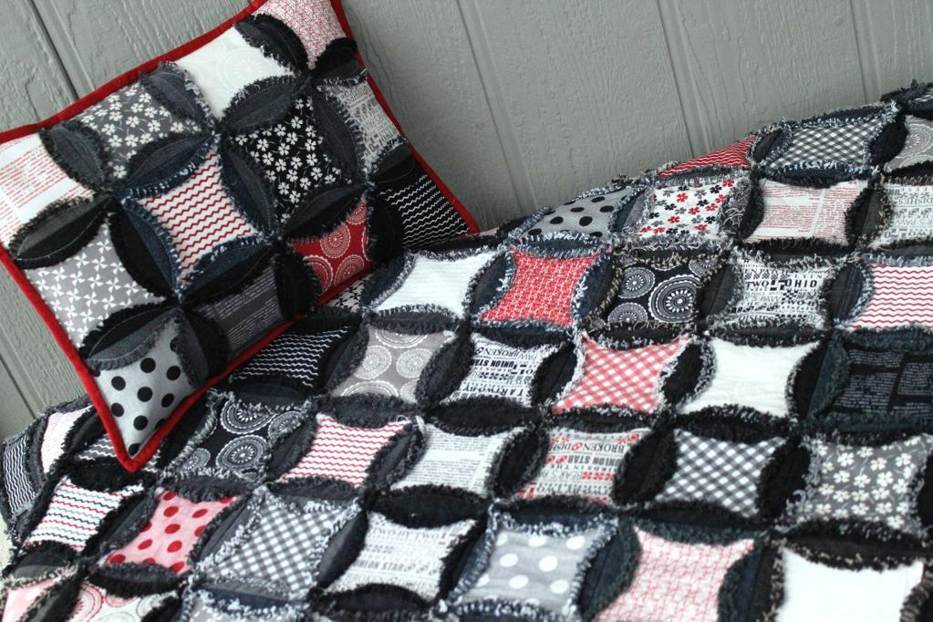 Image of: Black Flannel Quilt Patterns