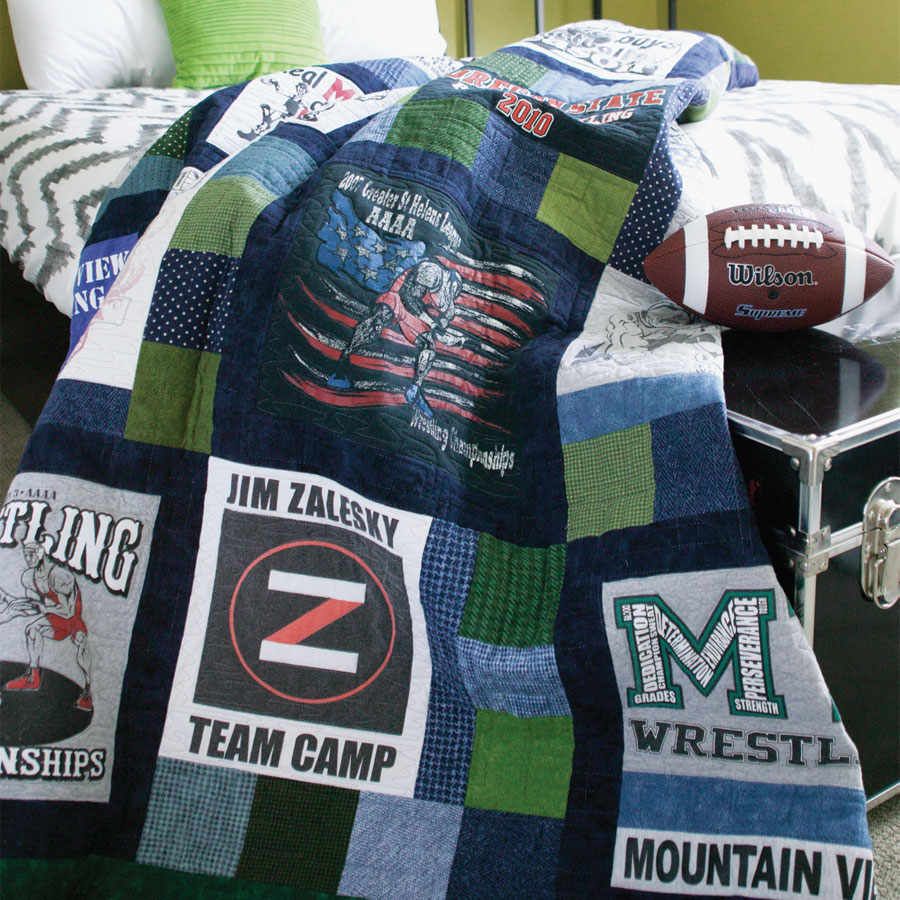 Boys T Shirt Quilt Pattern