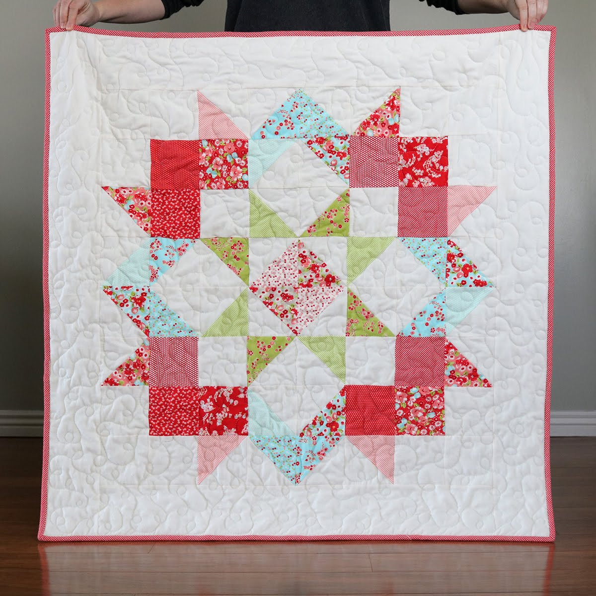 Picture of: Bright Baby Quilt Patterns