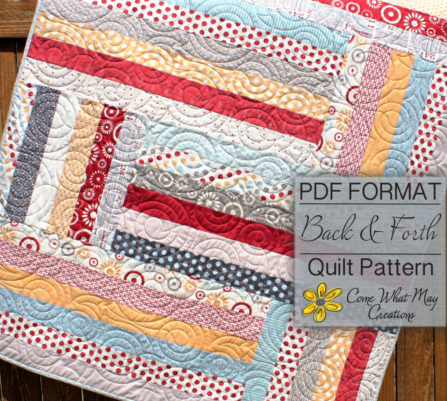 Image of: Buy Jelly Roll Baby Quilt