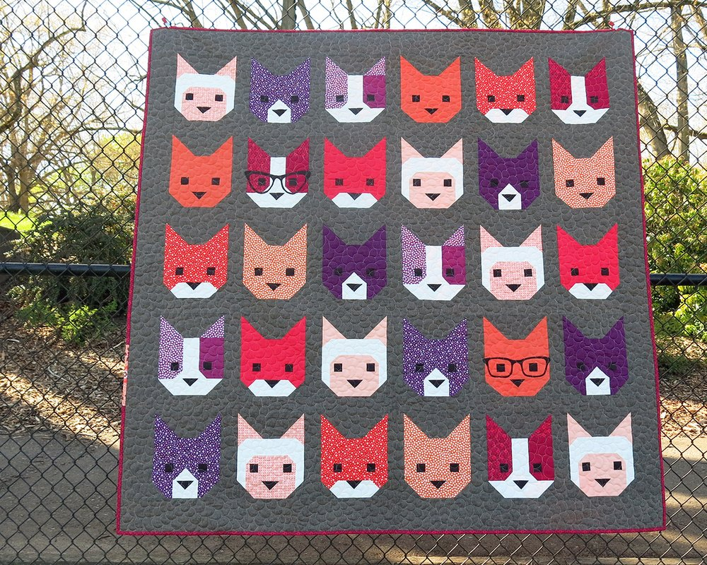 Cat Quilt Patterns Creative