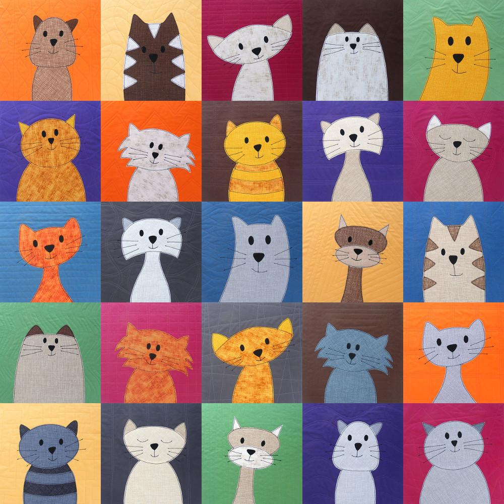 Cats Quilt Patterns
