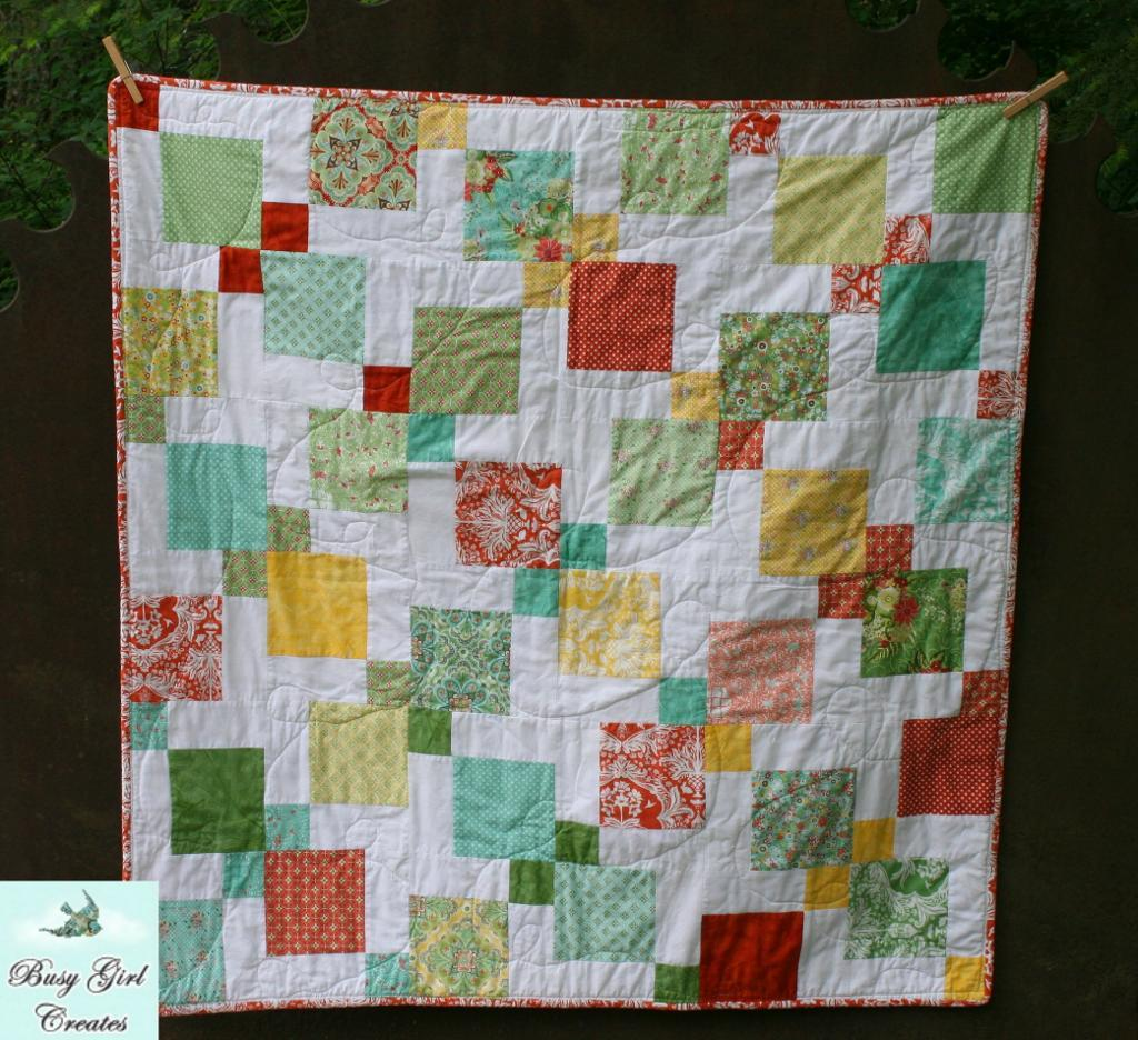 Picture of: Charm Baby Quilt Designs