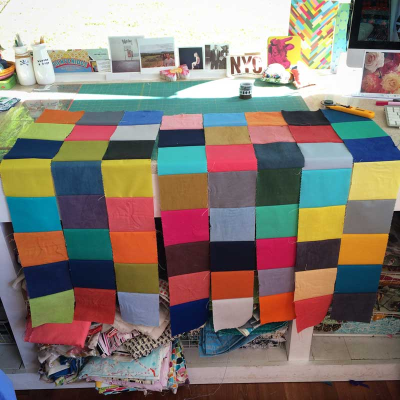 Image of: Charm Pack Baby Quilt Home