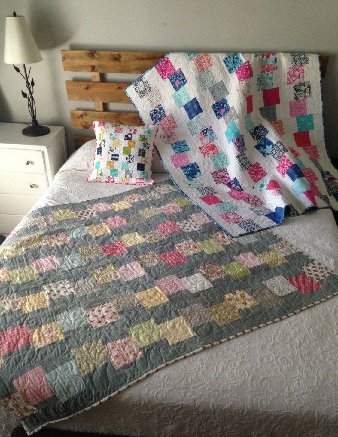 Image of: Charm Pack Baby Quilt Opt