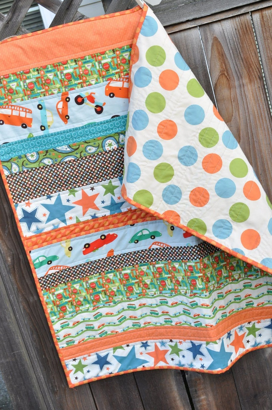 Image of: Cheap Baby Boy Quilt Ideas