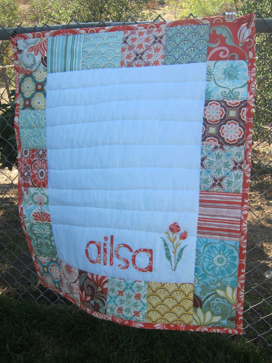Cheap Personalized Baby Quilts