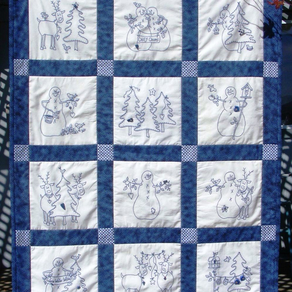Picture of: Christmas Embroidery Quilt Patterns