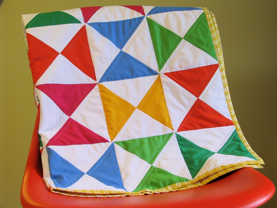 Picture of: Colorful Baby Quilts To Make