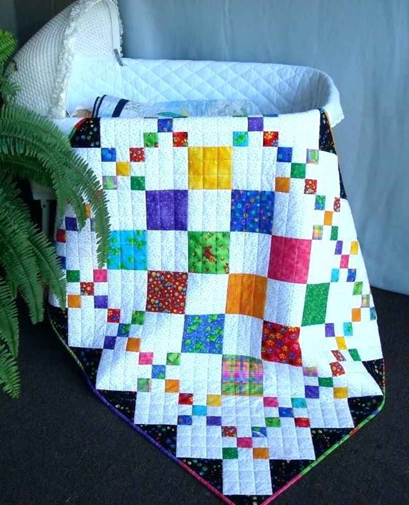 Colorful Design Baby Quilts Patterns