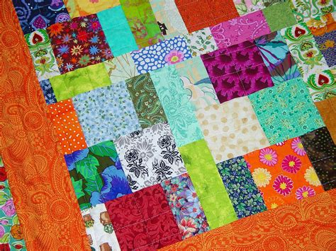 Picture of: Colorful Scrap Quilt Patterns