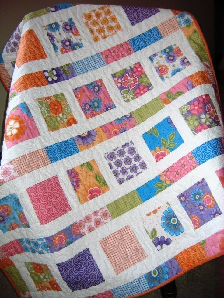 Image of: Concept Fat Quarter Baby Quilt