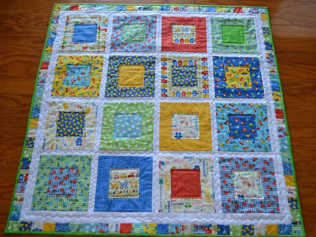 Image of: Cool Baby Quilts