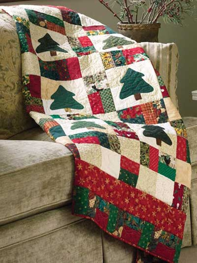 Picture of: Creative Christmas Quilt Patterns