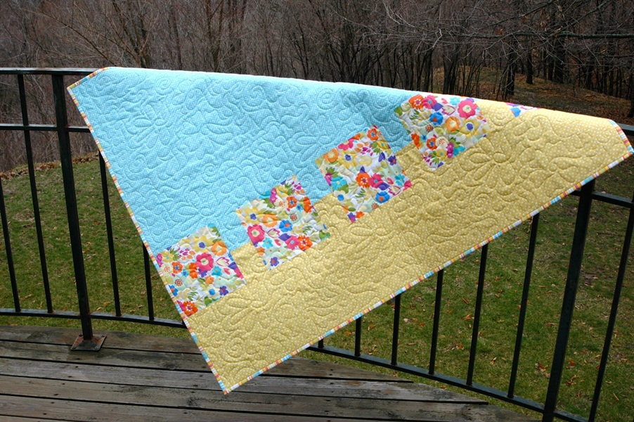 Image of: Creative Modern Baby Quilt Patterns
