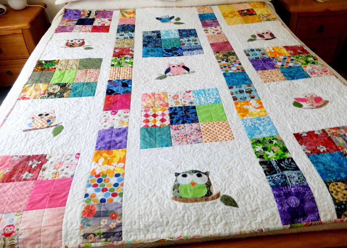 Picture of: Custom Applique Baby Quilt Patterns