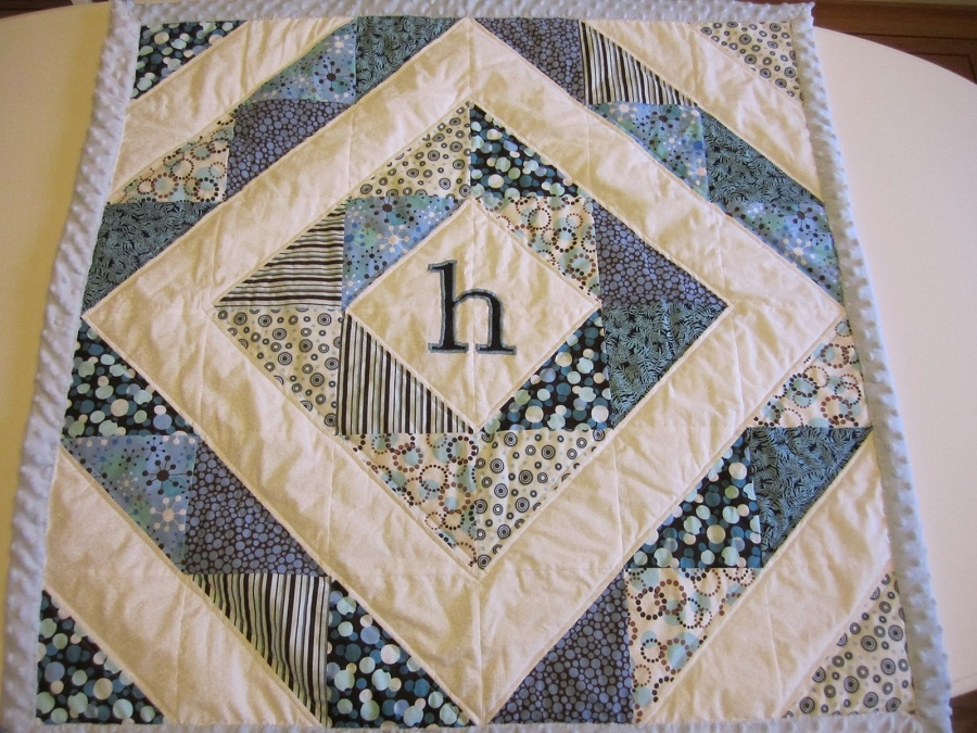 Image of: Custom Baby Boy Quilt Ideas