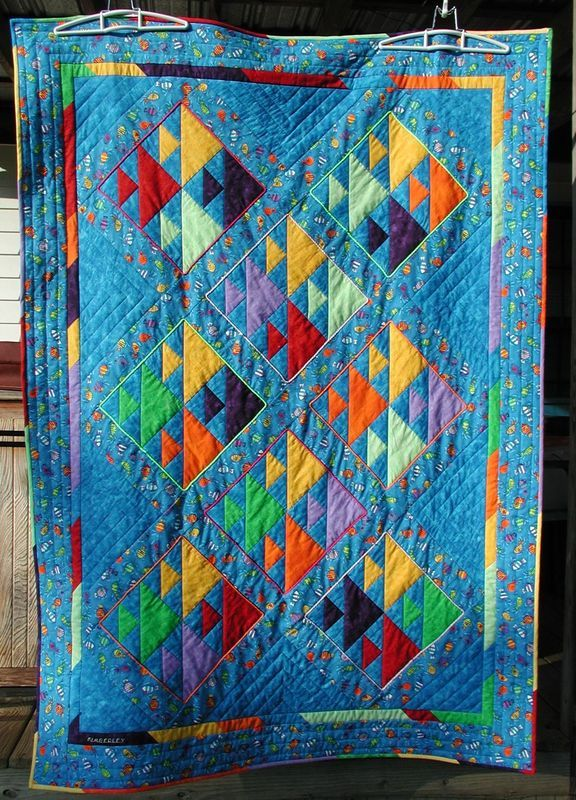 Picture of: Custom Fish Quilt Pattern
