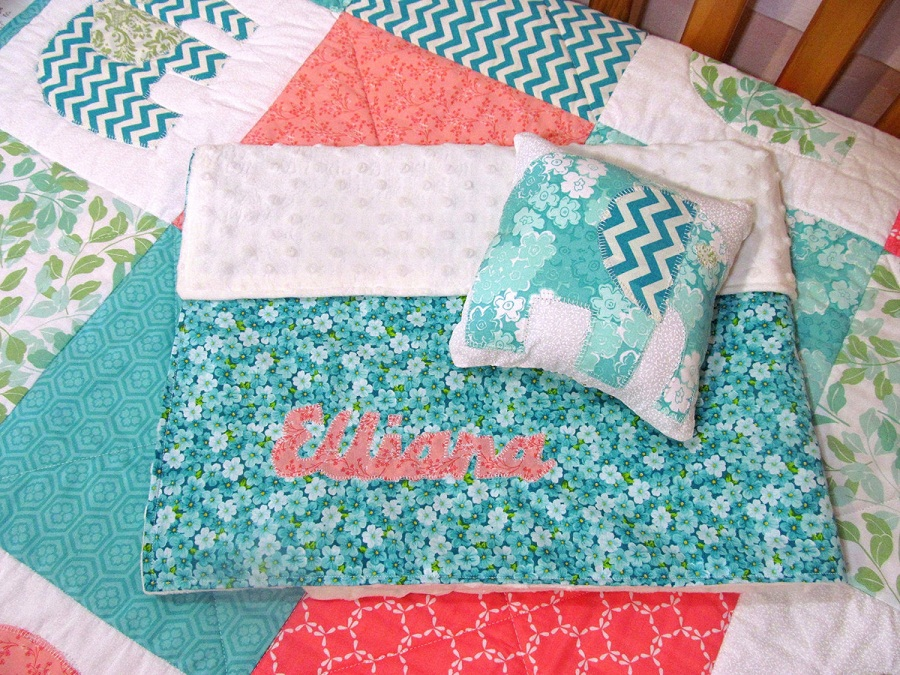 Picture of: Custom Personalized Baby Quilts